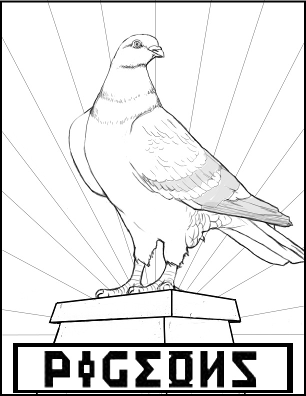 Pigeon propaganda #imaginED